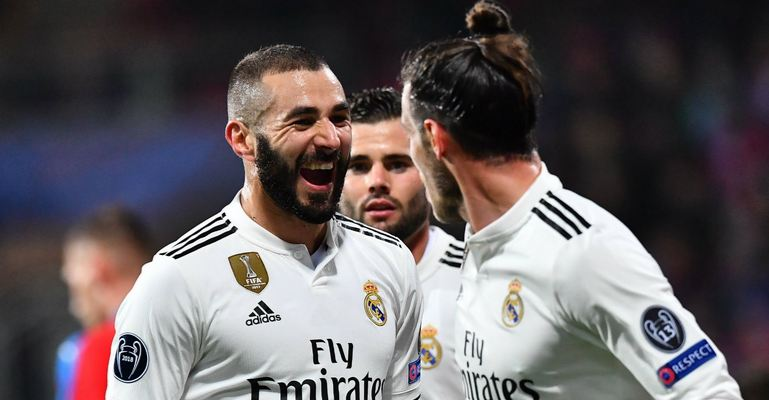 Karim Benzem Real Madrid UEFA Champions League