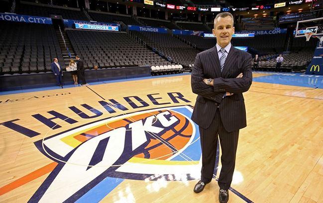 Billy Donovan Oklahoma City Thunder