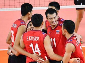 ไทยฉิว ซิว พม่า 3-1 เซต เอเชียนเกมส์ 2018