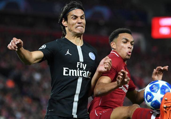 Edinson Cavani Paris Saint-Germain Ligue 1