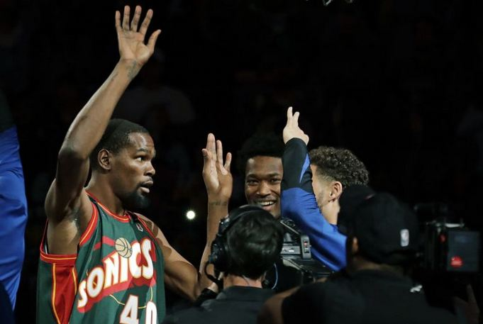 Kevin Durant Golden State Warriors NBA
