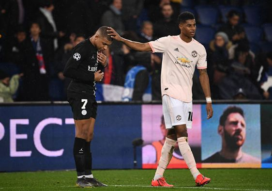 Jesse Lingard and Anthony Markiza Manchester United