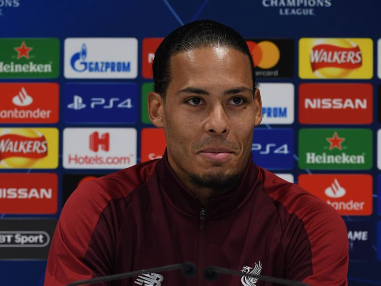 Virgil van Dijk Liverpool Premier League