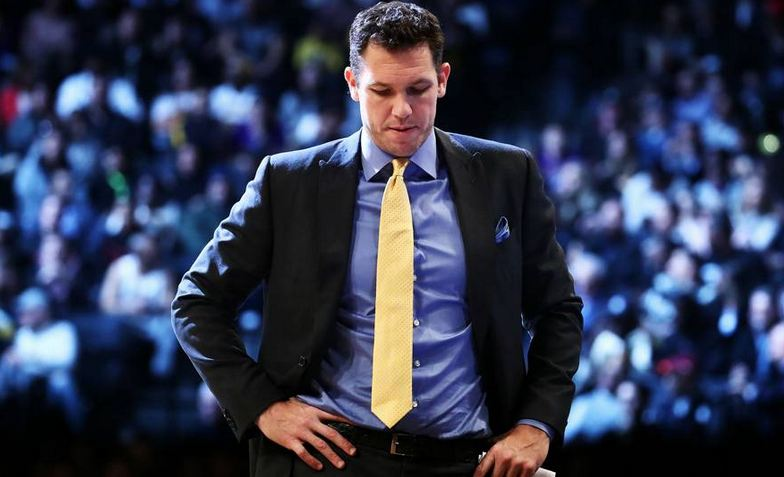 LukWalton NBA LA Lakers Coach