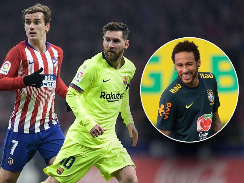 Lional Messi & Neymar Da Silva
