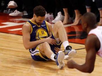 โกลเด้น สเตรท วอร์ริเออร์ส ลุ้น เคลย์ ธอมป์สัน เจ็บ 50-50 ลงเกมสาม NBA ไฟน่อล