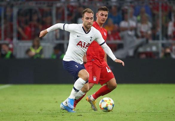 Christian Eriksen Tottenham Hotspur