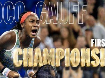 โคโค่ เกาฟฟ์ ทำสถิติคว้าแชมป์ WTA อายุน้อยสุด